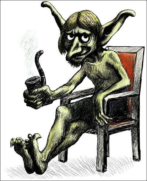 Une créature surnaturelle. Sorte de fée issue du folklore germanique. C'est :