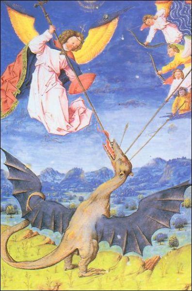 C'est une sorte de dragon ailé qui porte une escarboucle sur le front ; c'est :