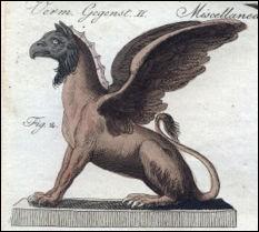 Un animal mi-aigle, mi-lion. C'est :