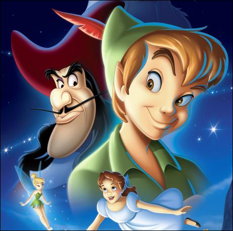 A la manière de Peter Pan, quel Blu-ray est sorti en France avant de paraître aux États-Unis ?
