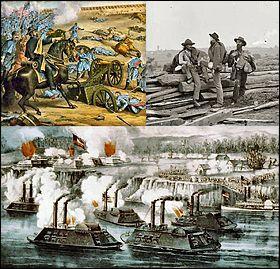 En quelle année a débuté la guerre de Sécession ?