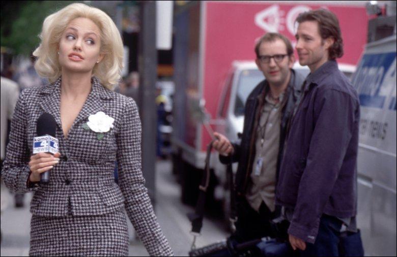 Dans quel film était-elle en blonde ?