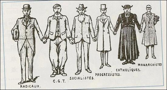 Quel est le nom donné au rassemblement de tous les partis politiques français dans le but commun de la victoire durant la Première Guerre mondiale ?