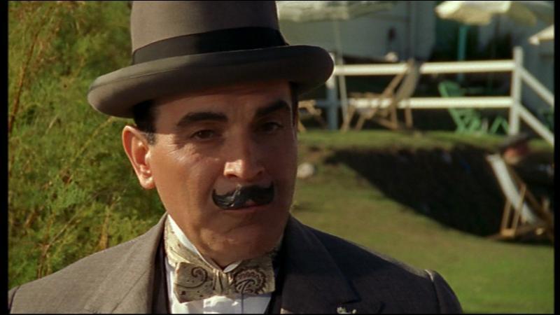Qu'est-ce que Poirot qualifie de  viande à un étal de boucher  ?