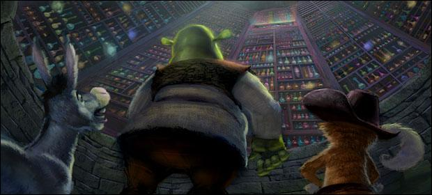 [Shrek 2] (***) Combien de fois au total une potion est-elle bue ?