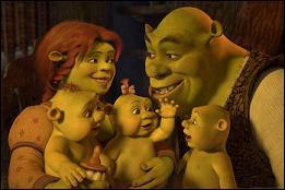 [Shrek 3] (*) Qui Shrek doit-il trouver pour que ce dernier devienne l'héritier du trône ?
