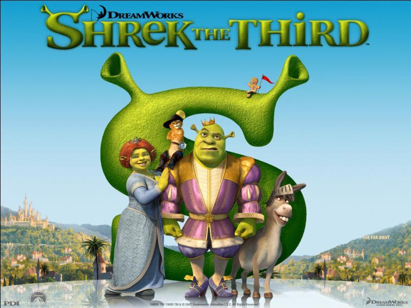 [Shrek 3] (*) Quel est le vrai nom de «Shrek 3» ?