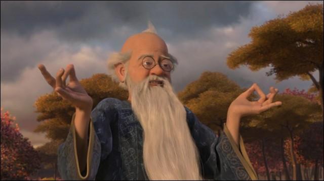 [Shrek 3] (***) Que ne se passe-t-il pas lors de l'intrusion des méchants chez Merlin ?
