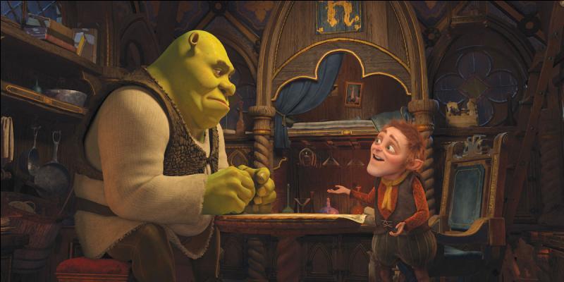 [Shrek 4] (*) Comment doit-il faire pour se délivrer de ce piège ?