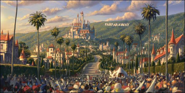 [Généralités] (*) Quel est le nom du château où habitent les parents de Fiona ?