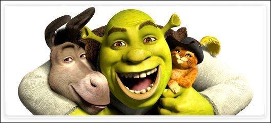 [Généralités] (**) Lequel de ces personnages présents dans «Shrek» n'a pas son film éponyme ?