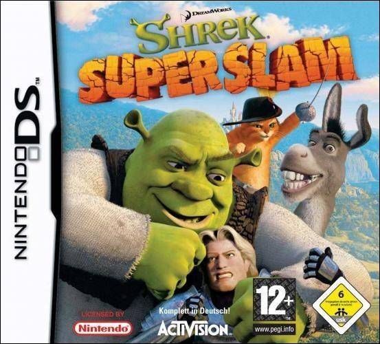 [Généralités] (***) Dans «Shrek SuperSlam», le jeu, quel personnage n'est pas jouable ?