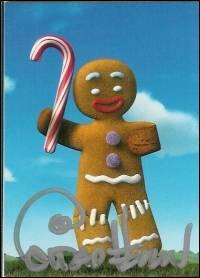[Shrek 2] (**) Comment s'appelle le père de Cake-Kong ?