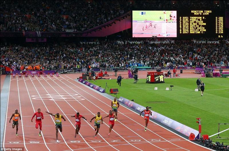 Je suis champion de 100 mètres. Qui suis-je ?