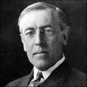 Quels étaient les prénoms du président Wilson ?