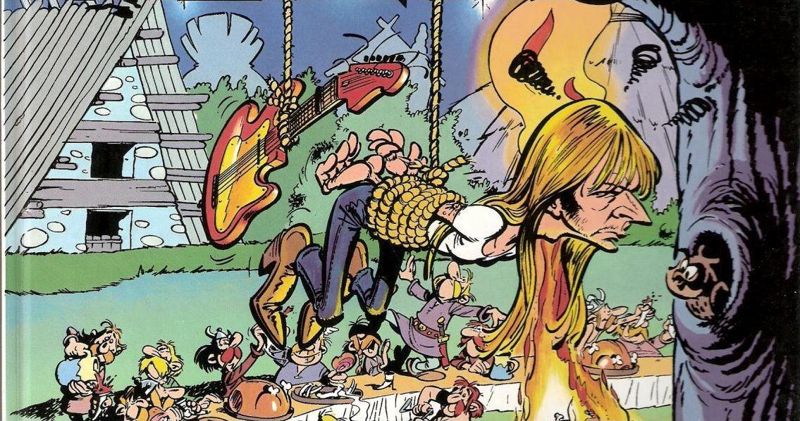 Renaud en bandes dessinées