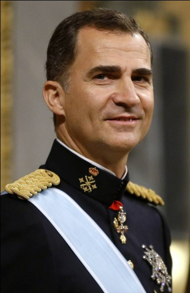 Comment s'appelle l'actuel roi d'Espagne ?