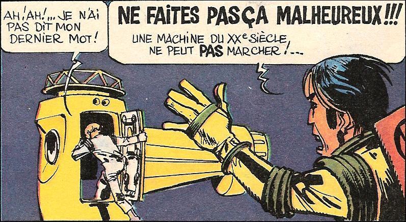 Un voyageur de l'espace, dessiné par Mésière, c'est: ?
