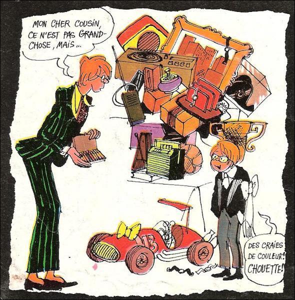 Comment s'appelle le grand dadais créé par Cabu dans 'Pilote' ?