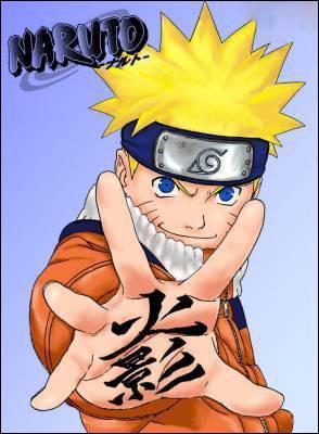 De quelle couleur sont les yeux de Naruto ?