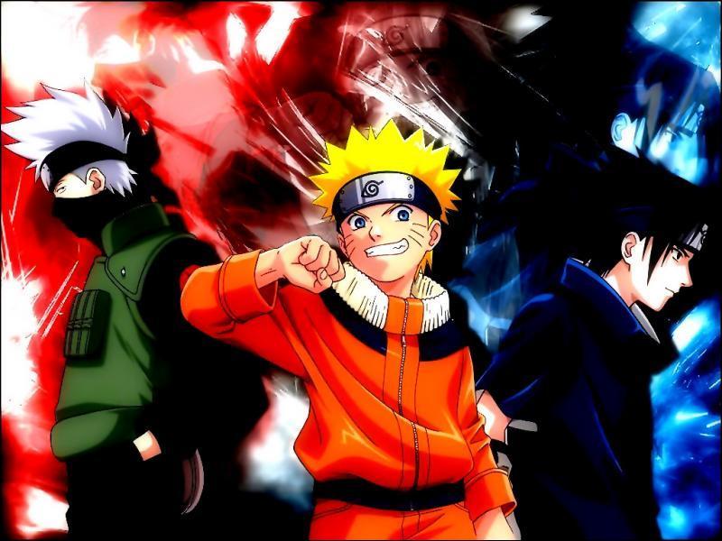De quelle couleur est la tenue de Naruto ?