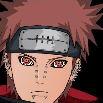 Qu'a le sous-chef de l'Akatsuki sur le visage ?