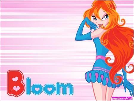 A la fin du film, quelle est la couleur de la robe de Bloom ?