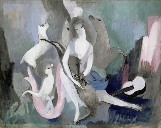 Egérie de Guillaume Apollinaire, évoquée dans une chanson populaire de Joe Dassin, elle a peint  Les biches . Qui est-elle ?