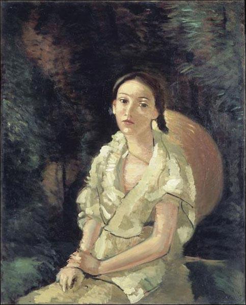 A quel peintre fauviste doit-on cette toile intitulée  La nièce du peintre assise  ?