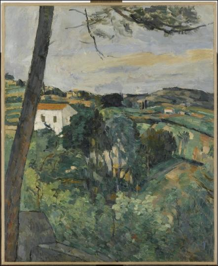 Qui a peint  Paysage au toit rouge ou le pin à l'Estaque , vers 1876 ?