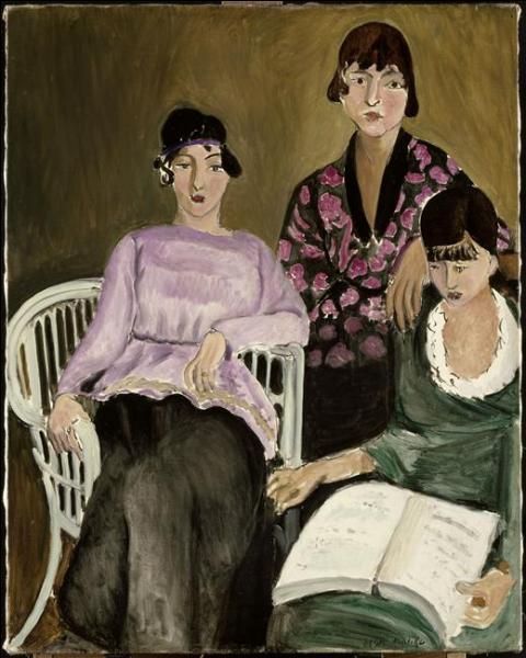 Quel peintre fauviste a réalisé  Les trois soeurs  en 1917 ?
