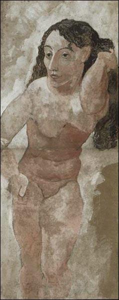 Qui a représenté plusieurs fois des femmes se coiffant, dont cette étrange  Femme au peigne  ?