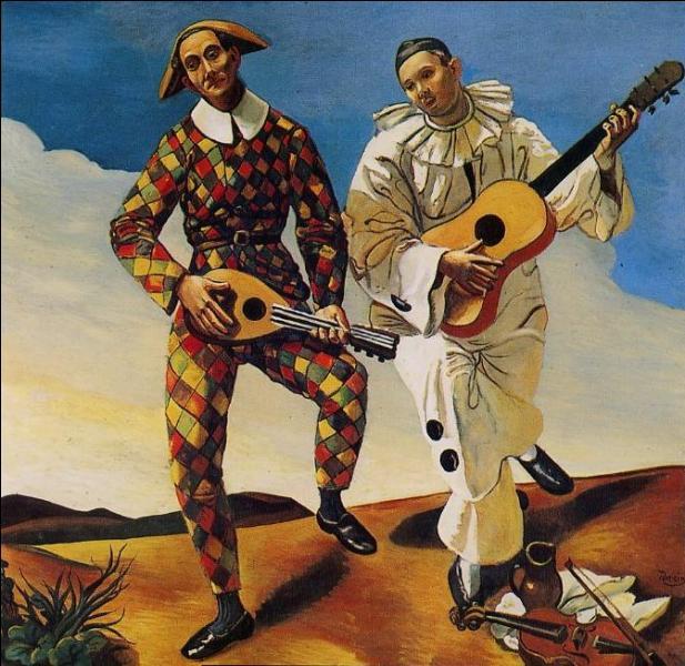 A quel peintre fauviste doit-on  Arlequin et Pierrot , réalisé en 1924 ?