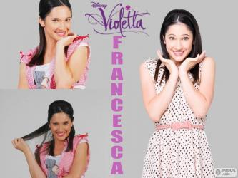 La meilleure amie de Violetta : Francesca