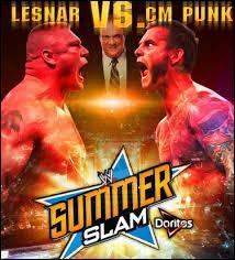 No Holds Barred Match : CM Punk vs Brock Lesnar. Qui est le vainqueur ?