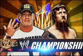 Match de championnat de la WWE. Cena vs Bryan. Qui remporte ce match ?