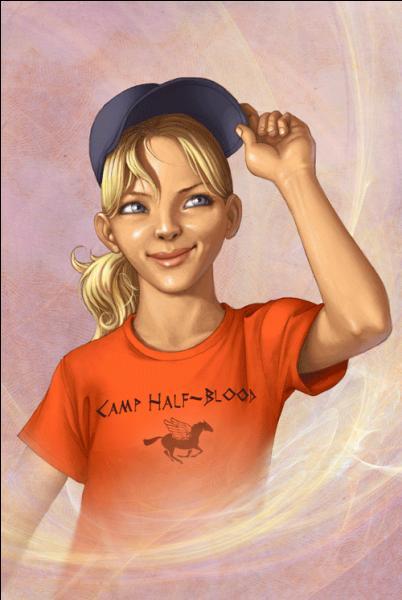 Quel est le nom de famille de la fille d'Athéna, Annabeth ?