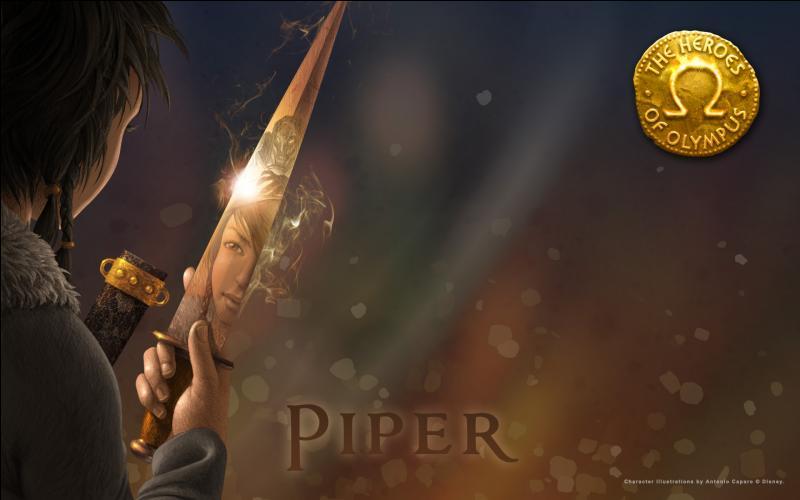 Quel est celui de la fille d'Aphrodite, Piper ?