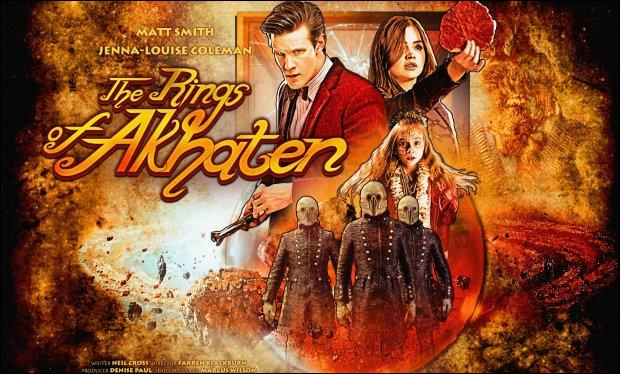 Dans  Les anneaux d'Akhaten , qu'est-ce que Clara utilise pour arrêter le  Dieu  ?