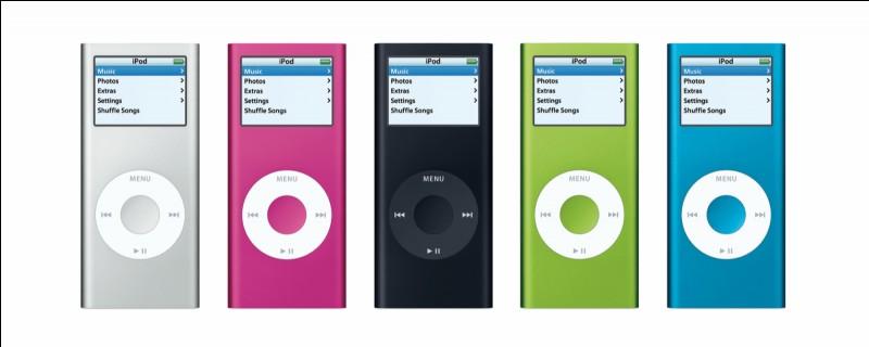 L'iPod nano apparu en 2005 en est maintenant à sa :