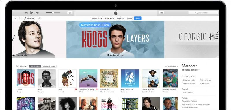 En 2001 Apple crée iTunes, service de téléchargement payant, combien de morceaux de musique on été téléchargés entre 2001 et 2007 ?