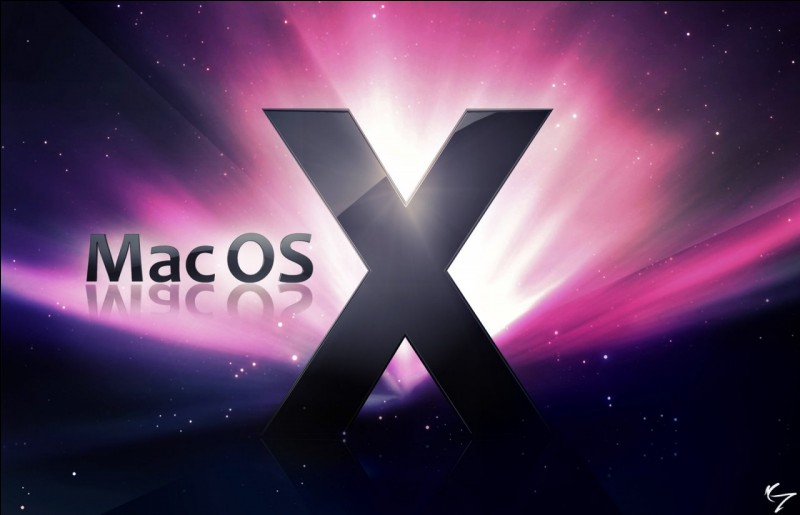 L'actuel version du système d'exploitation MAC OSX, se nomme :