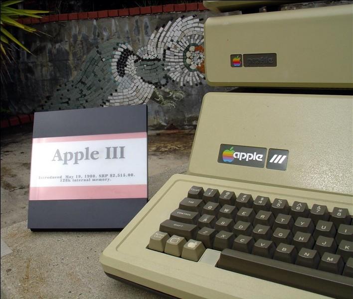 L'Apple III présenté en 1980 s'appelait aussi :