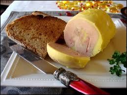 Il peut y avoir du foie gras de...