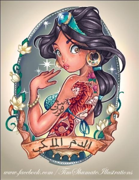 Mon prince Aladdin m'attend. Je suis :