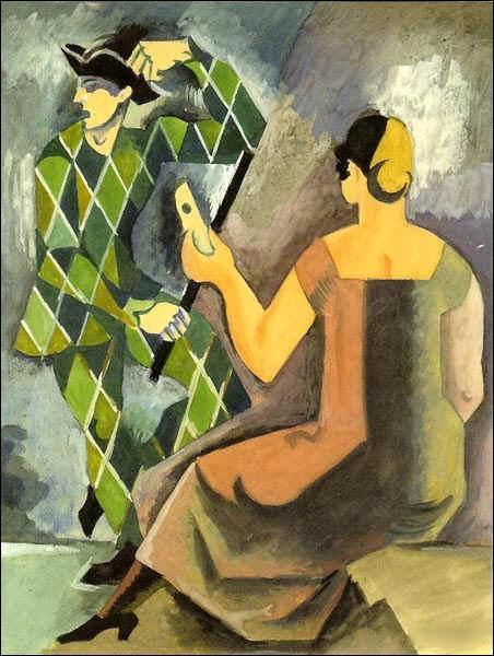 Quel peintre cubiste, théoricien de l'art et enseignant français, mort en 1962, a peint  Hommage à Watteau  ?