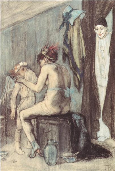 A quel peintre belge doit-on cette toile intitulée  Vénus et Cupidon  (l'amour mouché) ?