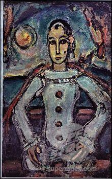 Qui a réalisé ce  Pierrot aristocrate  en 1942 ?