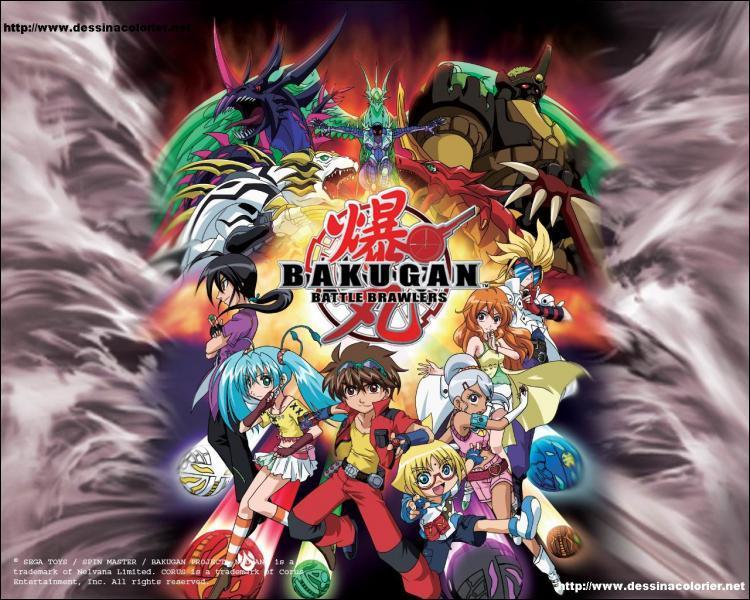 Comment s'apelle le groupe Bakugan?