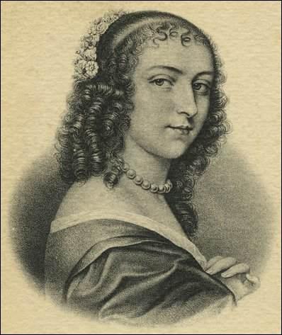 On dit qu'elle apprenait à ses jeunes amis  la façon jolie de faire l'amour , et qu'elle eut près de 5000 amants ainsi que quelques amantes. Amie de Molière, elle corrigea, à sa demande la version originale du Tartuffe. Qui est cette femme étonnante ?